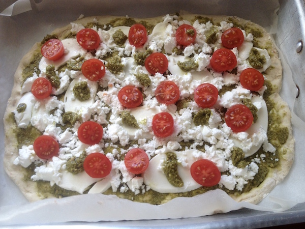 pizza pesto 6