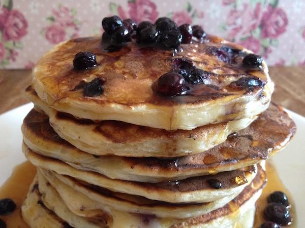 blueberries pancakes9