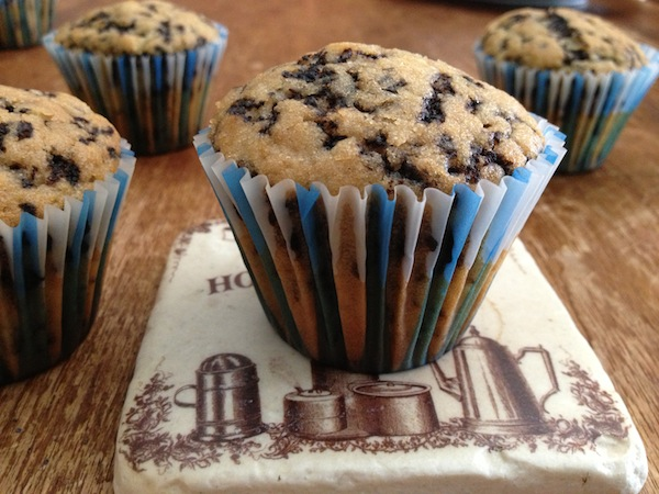 Muffins με τρούφα.